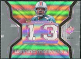 2007 Upper Deck SPx Winning Materials Jersey Number Dual #WMDM Dan Marino