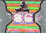 2007 Upper Deck SPx Winning Materials Jersey Number Dual #WMHW Hines Ward