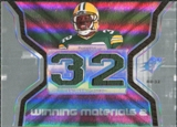 2007 Upper Deck SPx Winning Materials Jersey Number Dual #WMJA Brandon Jackson