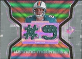 2007 Upper Deck SPx Winning Materials Jersey Number Dual #WMJB John Beck