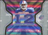 2007 Upper Deck SPx Winning Materials Jersey Number Dual #WMSS Steve Smith USC