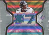 2007 Upper Deck SPx Winning Materials Jersey Number Dual #WMBL1 Byron Leftwich