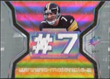 2007 Upper Deck SPx Winning Materials Jersey Number Dual #WMBR1 Ben Roethlisberger