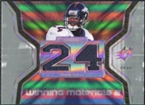 2007 Upper Deck SPx Winning Materials Jersey Number Dual #WMCB1 Champ Bailey