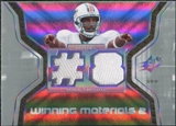 2007 Upper Deck SPx Winning Materials Jersey Number Dual #WMCU1 Daunte Culpepper