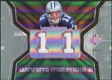 2007 Upper Deck SPx Winning Materials Jersey Number Dual #WMDR2 Drew Bledsoe