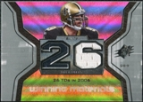 2007 Upper Deck SPx Winning Materials Stat #WMSDB Drew Brees