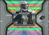 2007 Upper Deck SPx Winning Materials Stat #WMSDJ Dwayne Jarrett