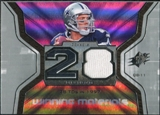 2007 Upper Deck SPx Winning Materials Stat #WMSDR Drew Bledsoe