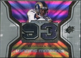 2007 Upper Deck SPx Winning Materials Stat #WMSHO Torry Holt