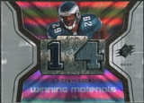 2007 Upper Deck SPx Winning Materials Stat #WMSHU Tony Hunt