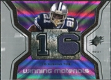 2007 Upper Deck SPx Winning Materials Stat #WMSJJ Julius Jones