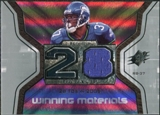 2007 Upper Deck SPx Winning Materials Stat #WMSSA Shaun Alexander