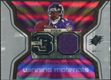 2007 Upper Deck SPx Winning Materials Stat #WMSTS Troy Smith