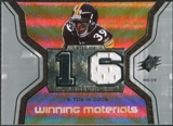2007 Upper Deck SPx Winning Materials Stat #WMSWP Willie Parker