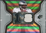 2007 Upper Deck SPx Winning Materials Stat #WMSDO1 Donovan McNabb