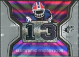 2007 Upper Deck SPx Winning Materials Stat #WMSWM2 Willis McGahee