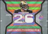 2007 Upper Deck SPx Winning Materials Stat Dual #WMSDB Drew Brees