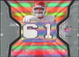 2007 Upper Deck SPx Winning Materials Stat Dual #WMSGO Tony Gonzalez
