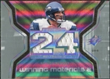 2007 Upper Deck SPx Winning Materials Stat Dual #WMSHA Matt Hasselbeck