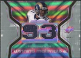 2007 Upper Deck SPx Winning Materials Stat Dual #WMSHO Torry Holt