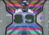 2007 Upper Deck SPx Winning Materials Stat Dual #WMSJA Javon Walker