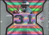 2007 Upper Deck SPx Winning Materials Stat Dual #WMSD02 Donovan McNabb