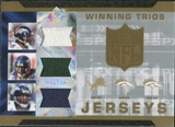 2007 Upper Deck SPx Winning Trios Jerseys #BWS Tatum Bell Javon Walker Rod Smith