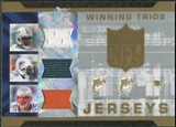 2007 Upper Deck SPx Winning Trios Jerseys #CBS Daunte Culpepper Ronnie Brown Junior Seau
