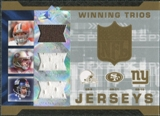 2007 Upper Deck SPx Winning Trios Jerseys #FSM Charlie Frye/Alex Smith/Eli Manning