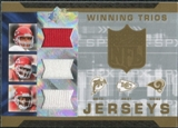 2007 Upper Deck SPx Winning Trios Jerseys #GHH Trent Green Priest Holmes Dante Hall