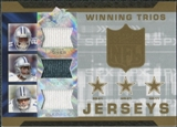 2007 Upper Deck SPx Winning Trios Jerseys #JOB Julius Jones/Terrell Owens/Drew Bledsoe