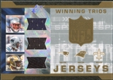 2007 Upper Deck SPx Winning Trios Jerseys #LDR Laurence Maroney/DeAngelo Williams/Reggie Bush