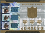 2007 Upper Deck SPx Winning Trios Jerseys #LTD Byron Leftwich Fred Taylor Maurice Jones-Drew