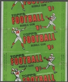 1956 Topps Football Wrapper (1 cent)