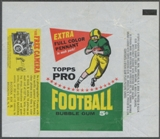1964 Topps Football Wrapper (5 cents)