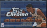 1999/00 Topps Chrome Basketball 24-Pack Box