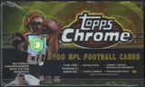 2000 Topps Chrome Football 24-Pack Box