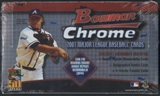 2001 Bowman Chrome Baseball Retail 24 Pack Box