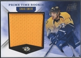 2011/12 Panini Prime #8 Craig Smith Prime Time Rookie Jersey #33/99