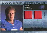 2009 Upper Deck SPx Rookie Materials Dual Swatch Patch #RMBO Rhett Bomar /99
