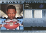 2009 Upper Deck SPx Rookie Materials Dual Swatch Patch #RMKB Kenny Britt /99
