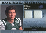 2009 Upper Deck SPx Rookie Materials Dual Swatch Patch #RMMS Mark Sanchez /99