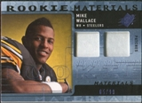 2009 Upper Deck SPx Rookie Materials Dual Swatch Patch #RMMW Mike Wallace /99