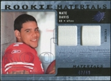 2009 Upper Deck SPx Rookie Materials Dual Swatch Patch #RMND Nate Davis /99