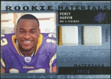 2009 Upper Deck SPx Rookie Materials Dual Swatch Patch #RMPH Percy Harvin /99