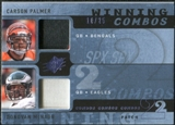 2009 Upper Deck SPx Winning Combos Patch #MP Carson Palmer/Donovan McNabb /25