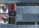 2009 Upper Deck SPx Winning Combos Patch #WF Matt Forte/Brian Westbrook /25