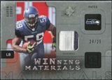 2009 Upper Deck SPx Winning Materials Patch #WAC Aaron Curry /99