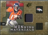 2009 Upper Deck SPx Winning Materials Patch #WER Eddie Royal /99